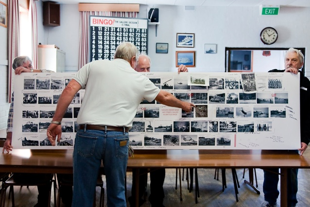 Veterans collected and compiled photos that soldiers had taken.