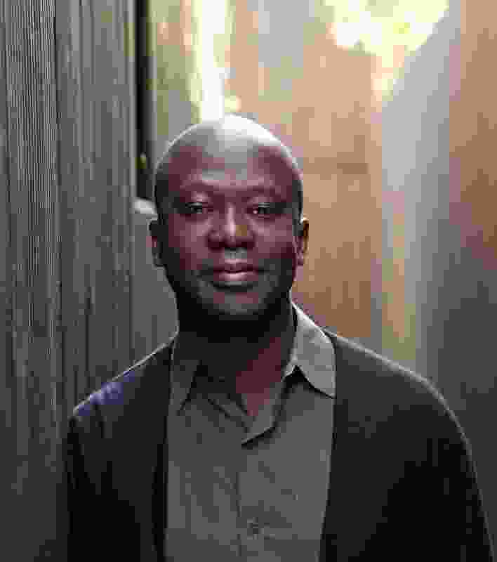 Design Miami Designer of the Year 2011, architect David Adjaye.