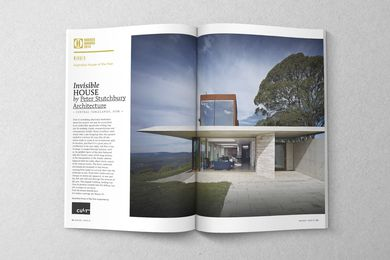 2014 Australian House of the Year: Invisible House by Peter Stutchbury Architecture.