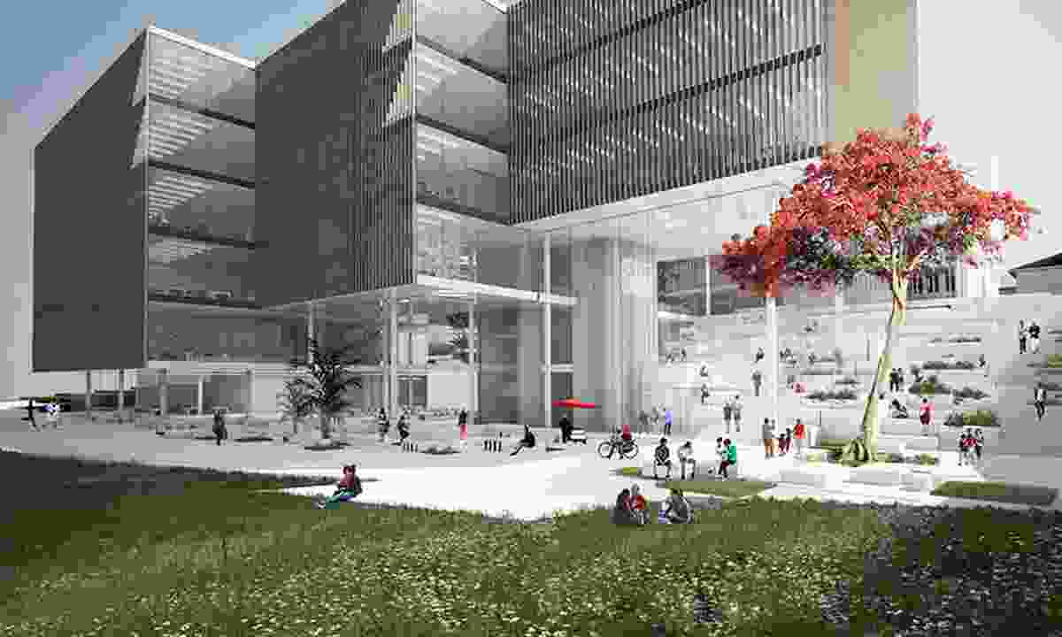 The project will house the Faculty of Education, the university's Oodgeroo Unit (a centre for Aboriginal and Torres Strait Islander education) and E Learning services.