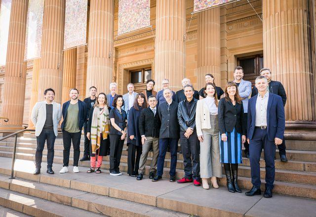 Speakers at The Architecture Symposium, Sydney.