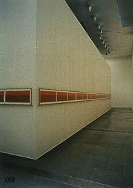 The exterior of the same enclosure, with Terra SPIRITUS... with a darker shade of pale, 1993-8, by Bea Maddock.Image: Trevor Mein.