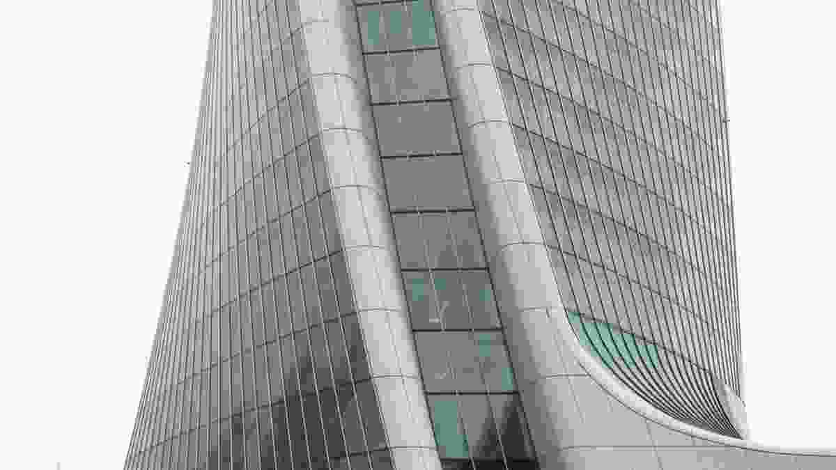 Zaha Hadid Architects-designed building at City Life in Milan.