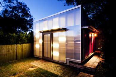 Tempe House by Eoghan Lewis Architects, 2013 Marrickville Medal winner.