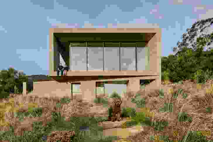 House at Otago Bay by Topology Studio.