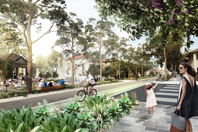 Kensington and kingsford ideas comp shortlisted designs for Aspect landscape architects