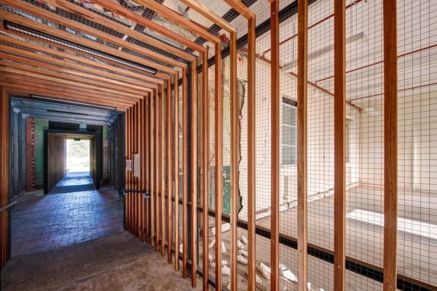 Small Project Architecture Commendation: Abbotsford Convent Breezeway by Jackson Clements Burrows.