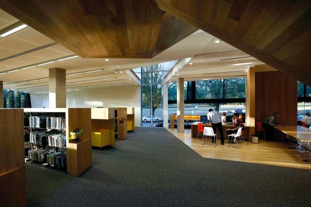 The 2009 Public Design Award Winner Melbourne Grammar School Nigel Peck Centre For Learning
