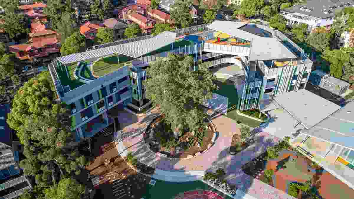Homebush West Public School by Context Landscape Architecture
