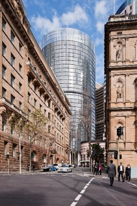 1 Bligh Street by Architectus and Ingenhoven Architects.