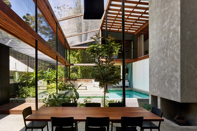 Mitti Street House by James Russell Architect.
