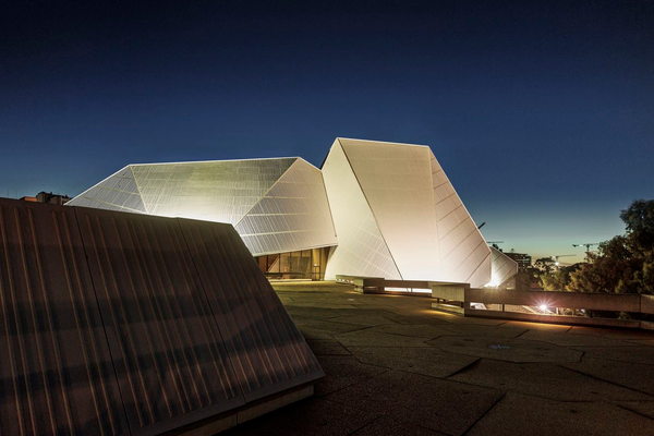 Adelaide Festival Centre by Hassell.