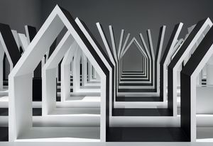 Escher ✕ Nendo: Between Two Worlds by National Gallery of Victoria and Nendo.