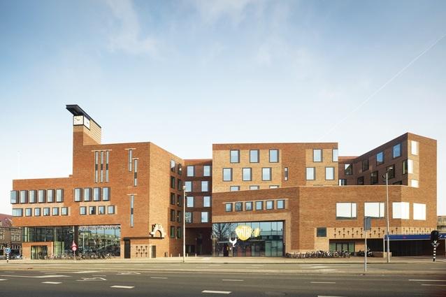 City Hall + Raaks Cinema Centre, Haarlem, Netherlands, 2012.
