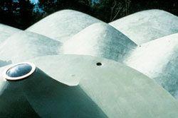 Uluru – Kata Tjuta Cultural Centre roofscape.