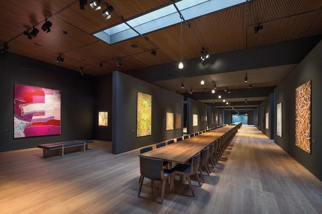 Garangula Gallery by Fender Katsalidis Mirams Architects.