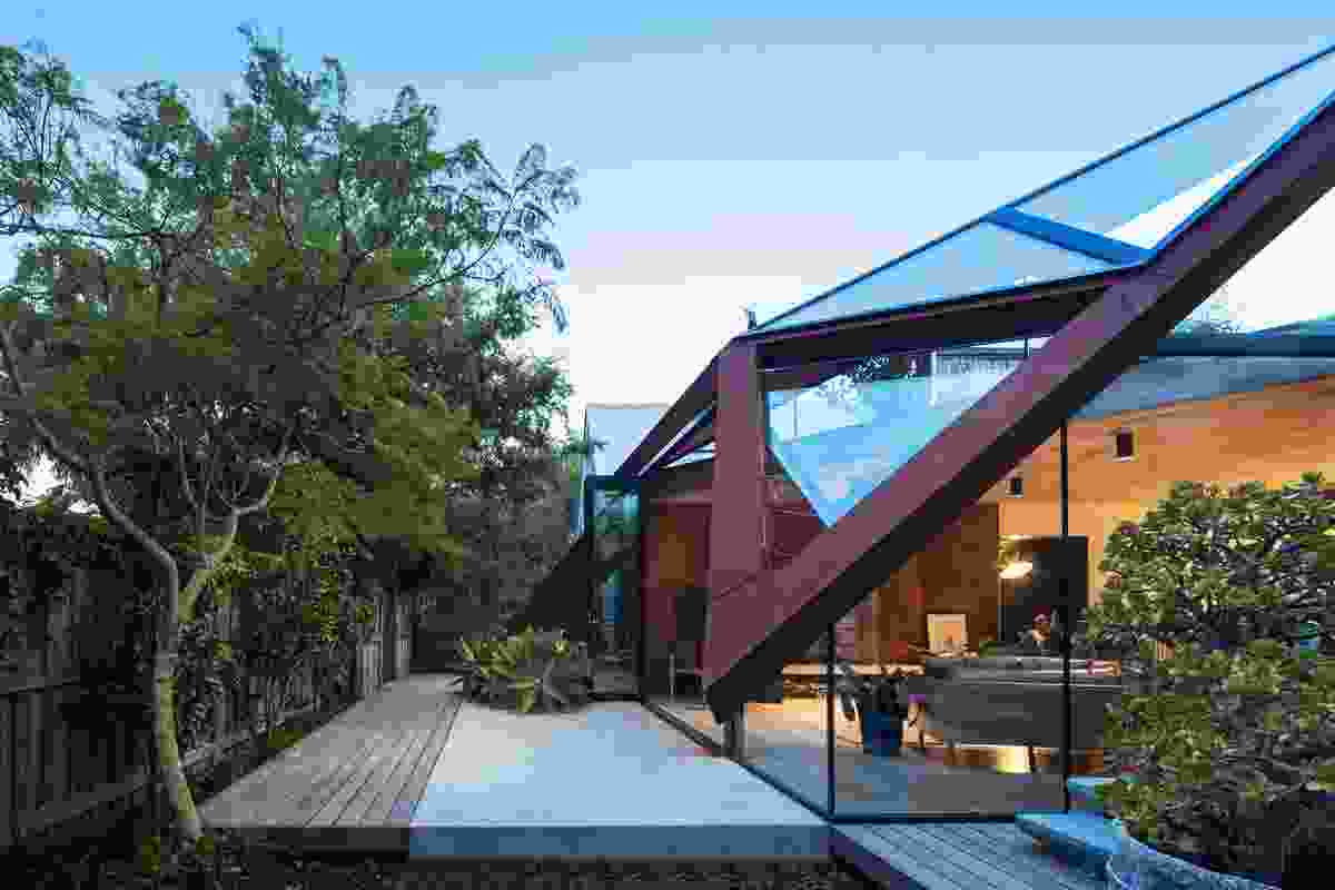The Leaf House by Damian Rogers Architecture.