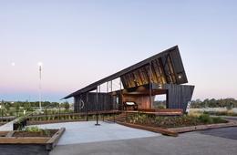 Metaphorical landscape: Northshore Pavilion