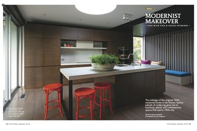 A kitchen by TFAD with Tina & Louise Interiors.