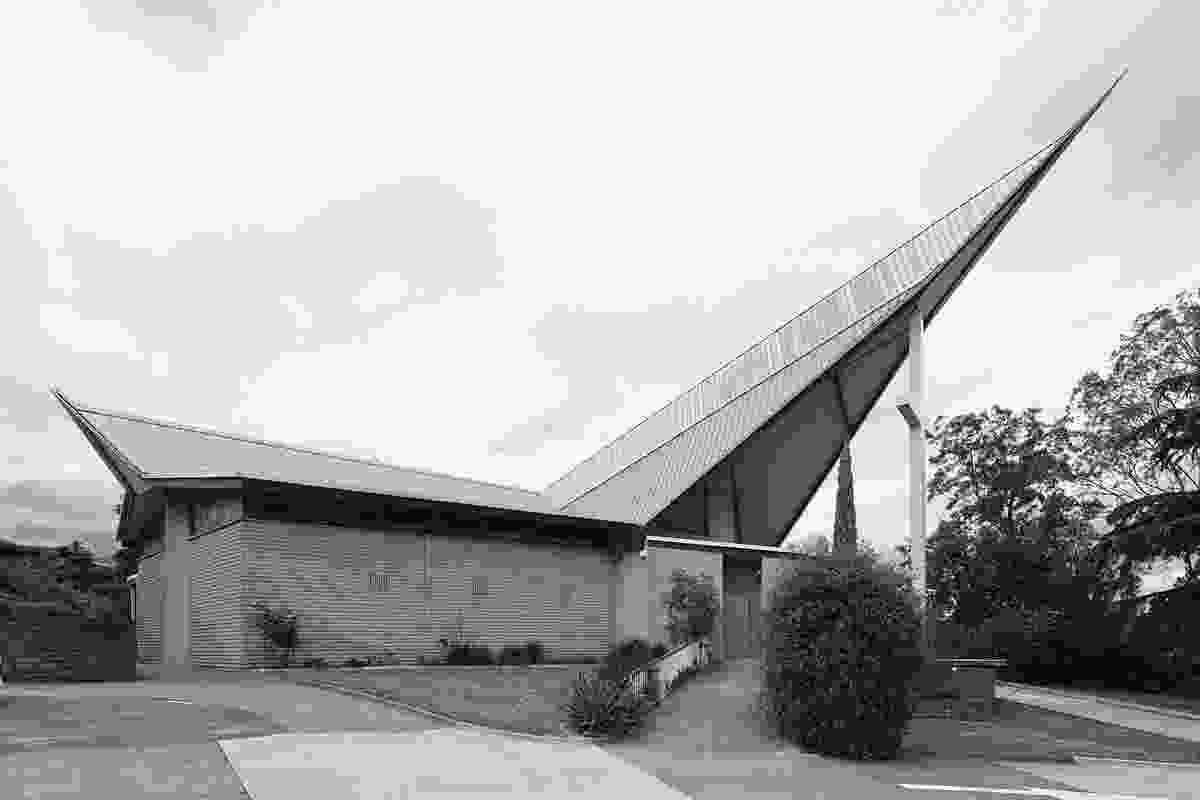 The neighbourhood of Clayton is dense with religion, including St Peter's Parish a few blocks from the Cook Islands Uniting Church.