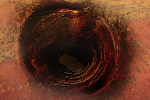 Black Hole / Hole in the Wall by Andrew Foster and Jessica Kreps.