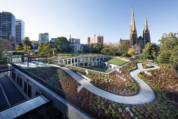 Members' Annexe Building, Parliament of Victoria by Peter Elliot Architecture and Urban Design, last year's overall winner.