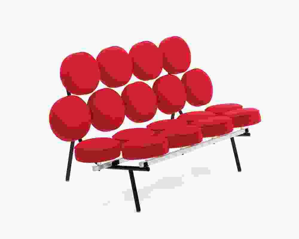 George Nelson's iconic Marshmallow Sofa.