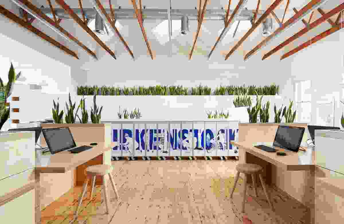 Birkenstock Australia Headquarters by Melbourne Design Studios (MDS).