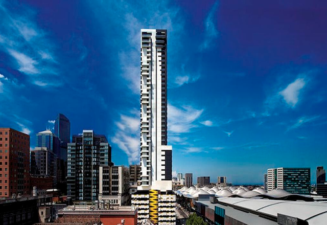 The Neo200 building in Melbourne.