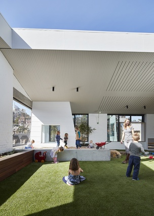 East Sydney Early Learning Centre (NSW) by Andrew Burges Architects in association with City of Sydney.