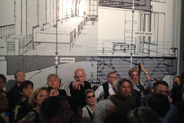 Rem Koolhaas at Elements, Venice 2014.
