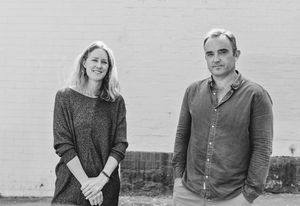 Emili Fox and Conrad Johnston, directors of Sydney-based practice Fox Johnston.