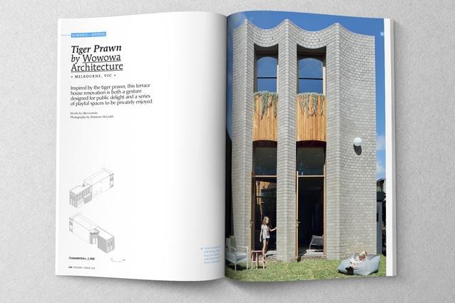 Tiger Prawn by Wowowa Architecture.