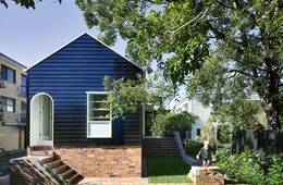 Larger than life: West End Cottage