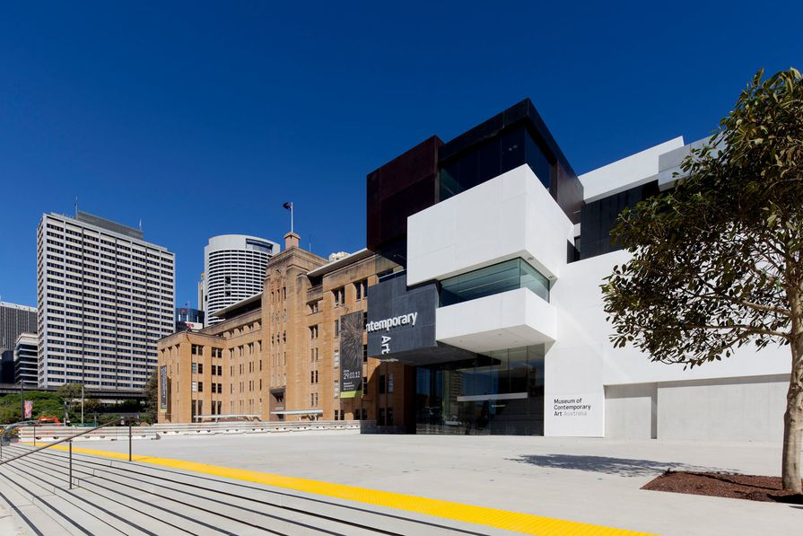 Exterior of the new MCA on Circular Quay West.