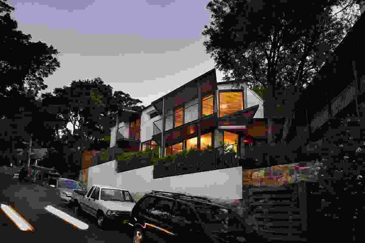 Pointy House Balmain by DRAW.