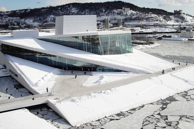 Norwegian National Opera and Ballet by Snøhetta. Jenny B. Osuldsen, a partner at Snøhetta, spoke at the 2015 Festival of Landscape Architecture conference.