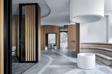 Piazza Dell'Ufficio by Branch Studio Architects.