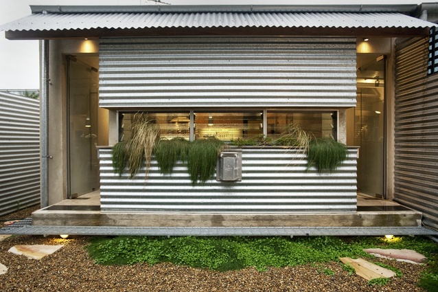 Awesome Corrugated Iron Home Designs Gallery - Decorating Design ...