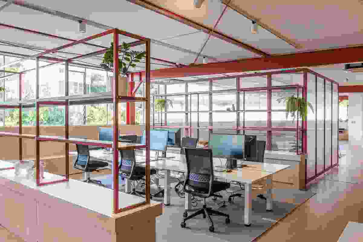 Crimson Education Office by OPL.