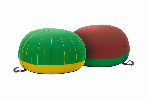 Oursin pouf by Hella Jongerius for Vitra.