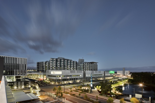 Fiona Stanley Hospital by Hassell.