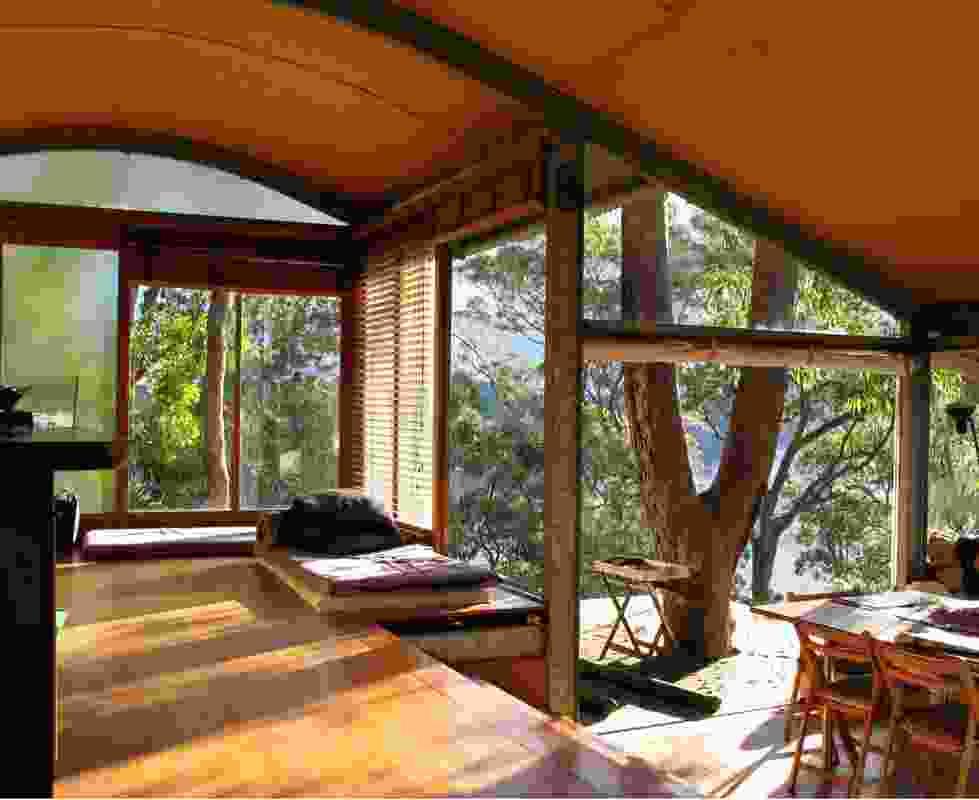 Paul Pholeros and partner Sandra Meihubers' family home (1989), Bilgola Plateau,  outside of Sydney.