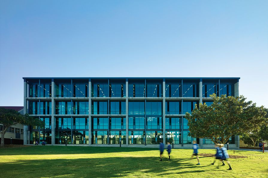St Joseph's Nudgee College Hanly Learning Centre by M3 Architecture.