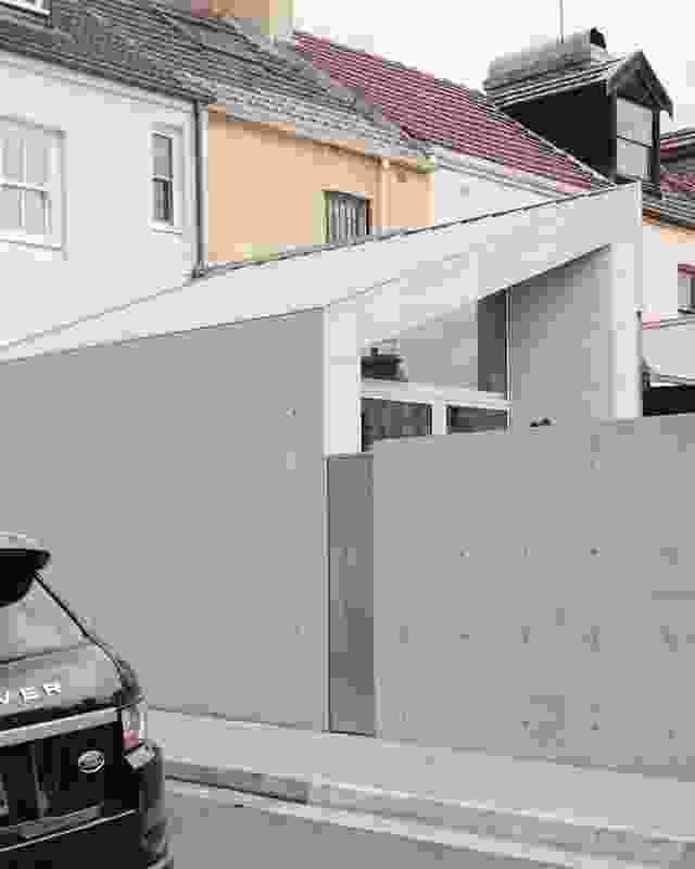 Concert Hall House by Pandolfini Architects.