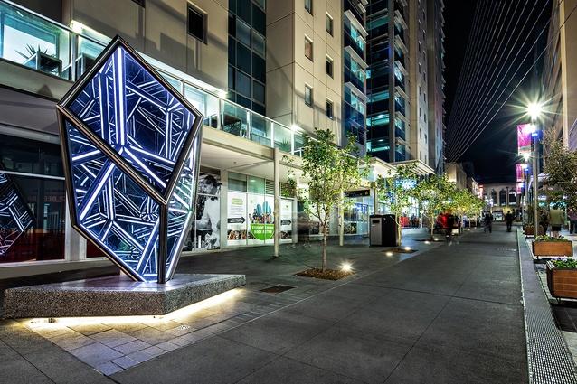 Bank Street Upgrade by City of Adelaide and Renewal SA.