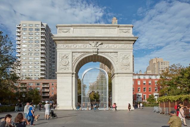 <i>Arch</i>, 2017, by Ai Weiwei.