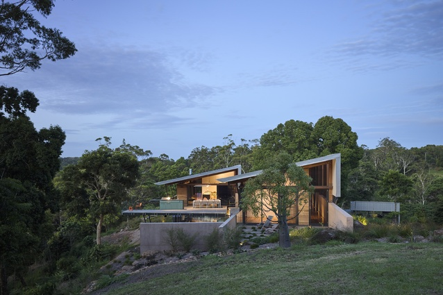 Montville Residence 2 by Sparks Architects.