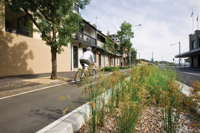 Travel – Bourke Street Cycleway by Pod Landscape Architecture