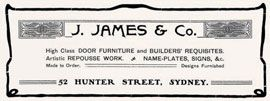 Early advertisements 1904–1905.